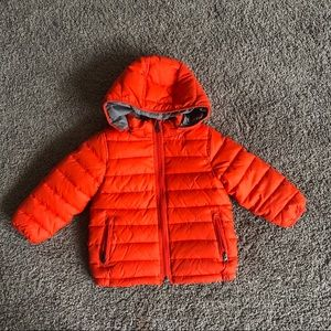 Toddler 3T reversible winter puffer jacket lk new